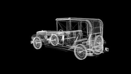 Semi modern classic car