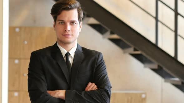 Thumbnail for Portrait of Confident Businessman