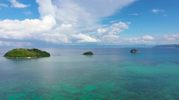 Thumbnail for Karamoische Inseln, Philippinen. Sommer- und Reise-Urlaubskonzept