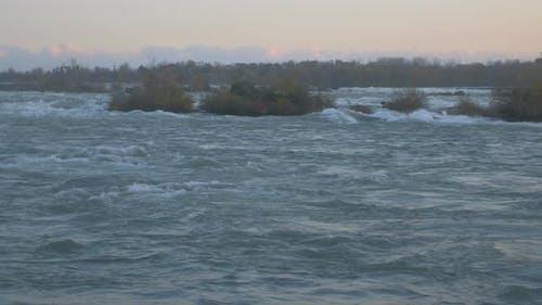 Niagara's water, USA