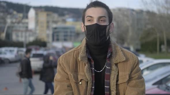 Masked Man Covid19