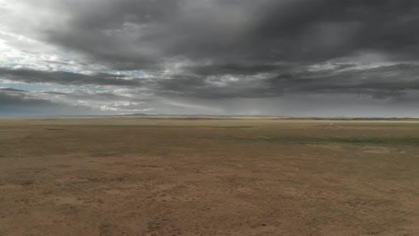 Thumbnail for Aerial Vast Barren Desert