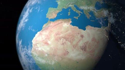 Wüste von Sahara