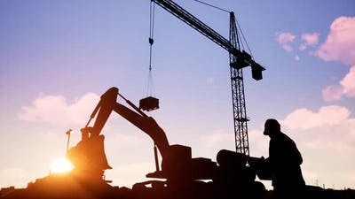 Construction Machinery And Engineer