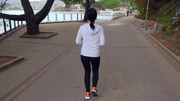 Thumbnail for Jogger Running Seafront Montenegro Sportlife