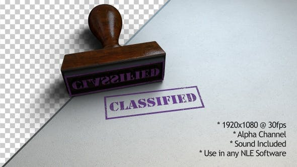 Thumbnail for Classified Stamp