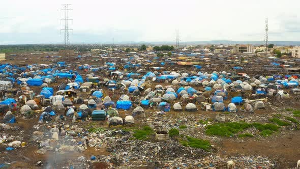Thumbnail for Africa Mali Dump Site Aerial View 4