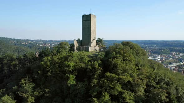 Thumbnail for Baradello Castle Como Aerial View