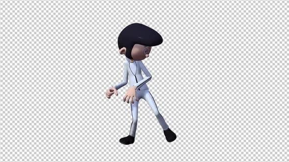 Elvis Cartoon Dancing