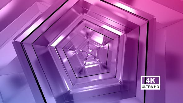 Thumbnail for Polygonal Colorful Background 4K