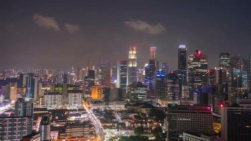 City Night Timelapse