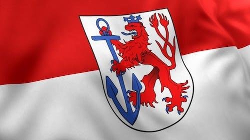Dusseldorf City Flag