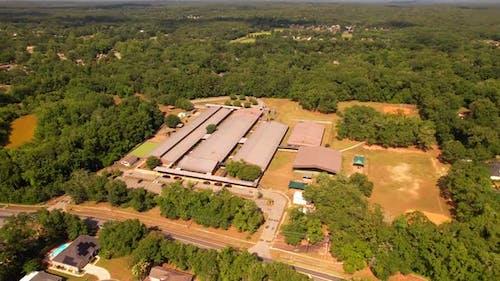 Luftbild Buck Lake Grundschule Tallahassee Fl Usa