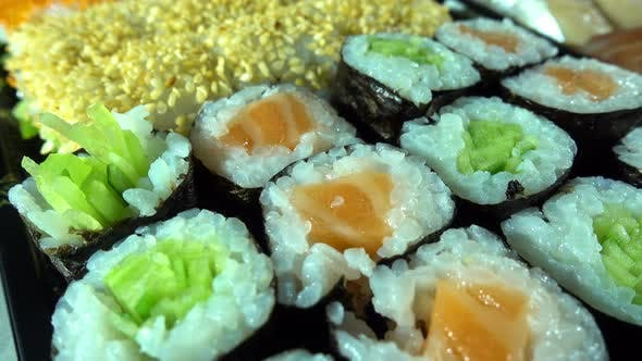 Thumbnail for Japan Traditional Seafood Sushi