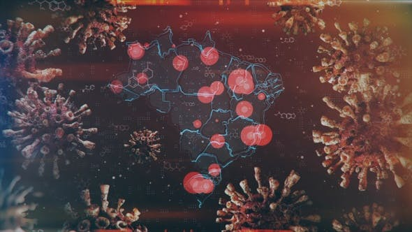 Thumbnail for Mapping Epidemic Outbreak in Brazil 4K
