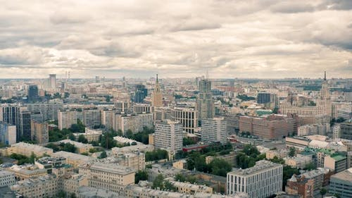 Cloudy Day in Moscow