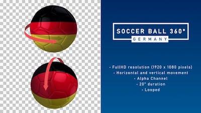 Soccer Ball 360º - Germany