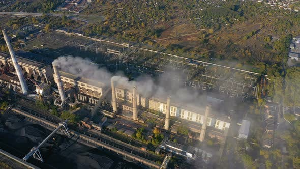 Thumbnail for Power Plant Aerial View 21