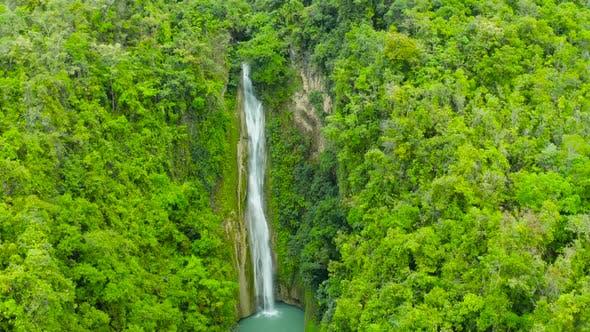 Thumbnail for Beautiful Tropical Waterfall Philippines, Cebu