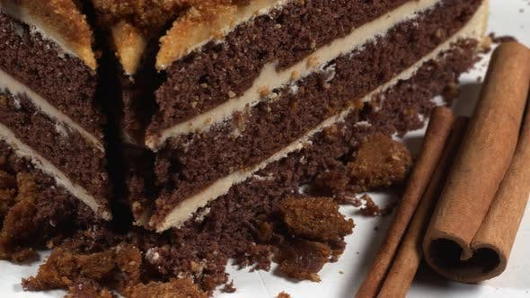 Biscuit Cake With Cinnamon 1