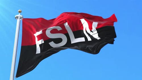 Flag of the Sandinista National Liberation Front, Nicaragua