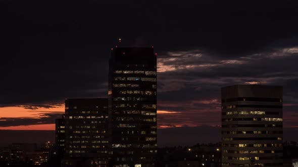 Thumbnail for Dramatic Clouds Over Los Angeles