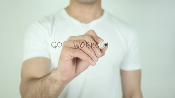 Thumbnail for Go Workout, Writing On Transparent Screen