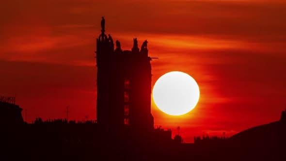 Sunrise Paris France