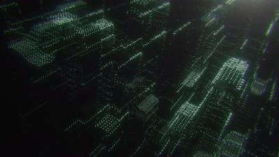 Cyber Hologram City