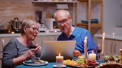 Shopping Online Using Laptop