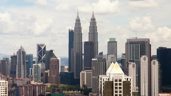 Thumbnail for Day Overlooking the Kuala Lumpur City Skyline