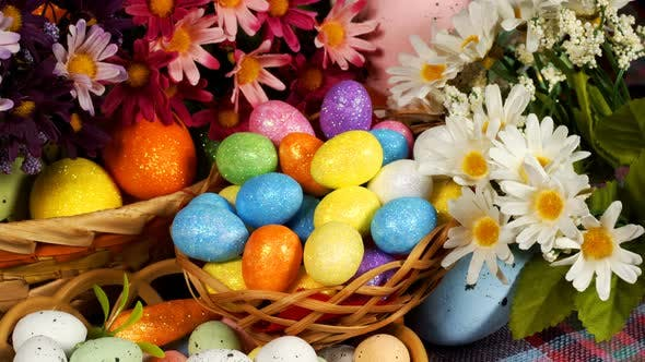 Thumbnail for Colorful Traditional Celebration Easter Paschal Eggs 16