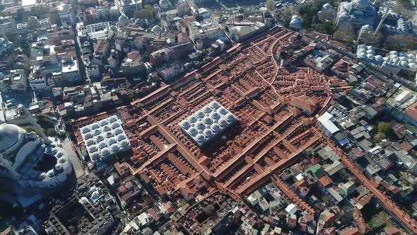 Thumbnail for Grand Bazaar Roofs Istanbul Aerial View