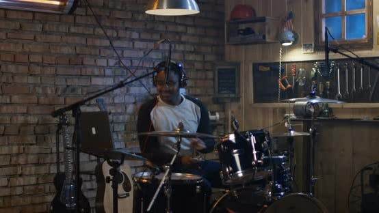 Thumbnail for Young Men Drumming