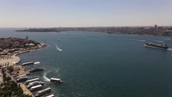 Istanbul Bosphorus Traffic