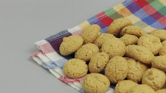 Pepernoten, a Traditional Treat with the Dutch Holiday Sinterklaas. Cookie