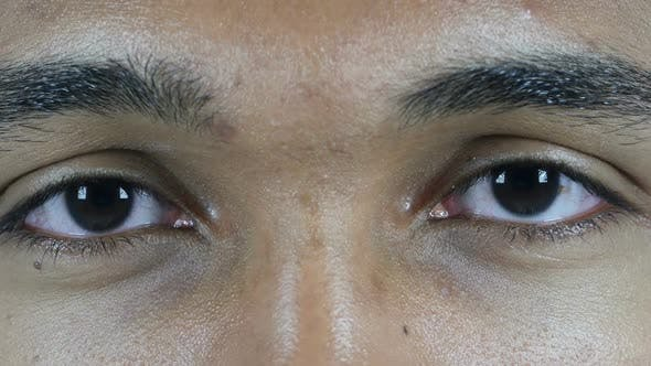 Thumbnail for Blinking Eyes of Man
