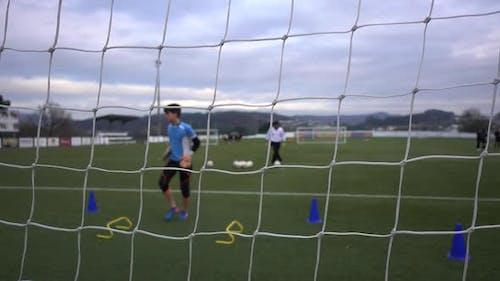 Goalkeeper Training