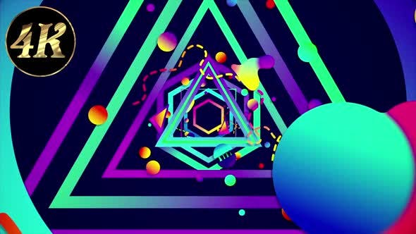 Thumbnail for Colorful Geometric Background