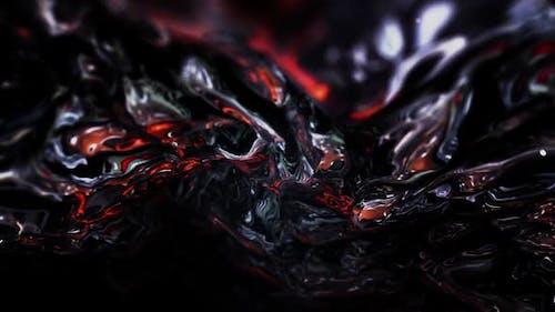 Miroir liquide foncé