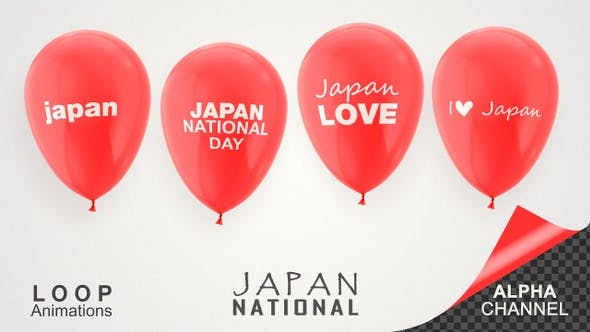 Thumbnail for Japan National Day Celebration Balloons