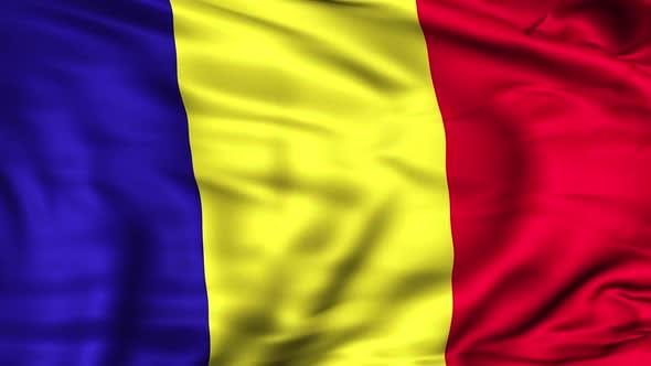 Thumbnail for Rumänische Flagge