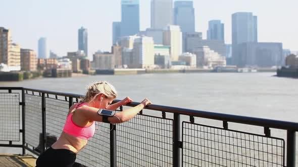 Thumbnail for Woman jogging