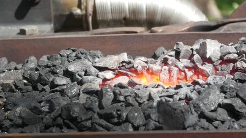 Professional Coal Blacksmith Stove
