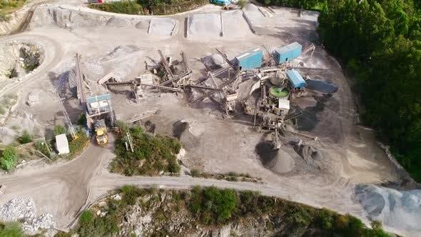 Coal Mining in the Quarry