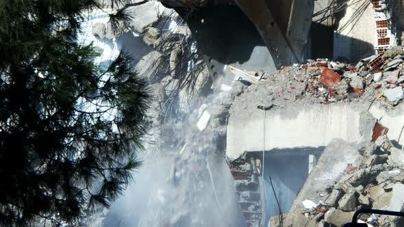 Thumbnail for Demolution Destruction An Old House Building 35