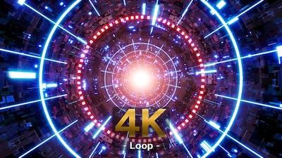 Cyber Tech VJ Loop