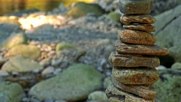 Cover Image for Tower of Stones - River in the Background