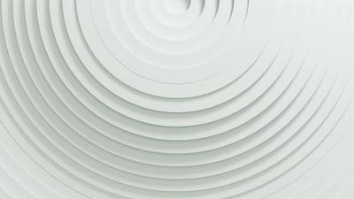 Abstract Pattern of Circles with Displacement Effect