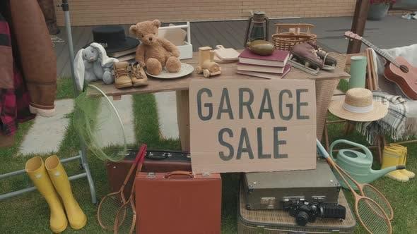 Garage Sale in Suburbs